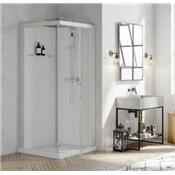 Cabine de douche Carré BROOKLYN 90x90